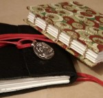 These are the books I made in the workshop