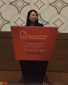 Reading at the AWP 2016 Conference in Los Angeles, April 1, 2016